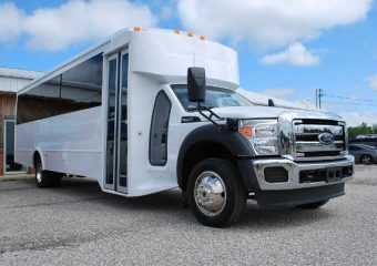 22 Passenger party bus rental Plano