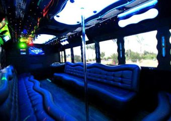 40 people party bus Plano