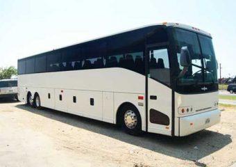 50 passenger charter bus Plano
