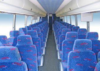 50 people charter bus Plano