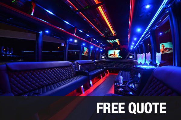 party buses for rental Plano